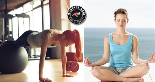 Sahrayıcedit Mustafa Sarı Dans Stüdyosu'nda hem incelip hem de sıkılaşacağınız 8 ders matwork pilates - stretching ve yoga seçenekleri 250 TL yerine 69 TL! Fırsatın geçerlilik tarihi için DETAYLAR bölümünü inceleyiniz.