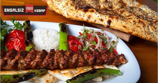 Sahrayıcedit Emsalsiz Kebap'ta damak çatlatan lezzetler 19,90 TL'den başlayan fiyatlarla! Fırsatın geçerlilik tarihi için DETAYLAR bölümünü inceleyiniz. Haftanın her günü geçerlidir. Öğle yemeği menüsü restoranda, paket serviste ve gel-al serviste geçerlidir.