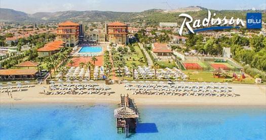 5 yıldızlı Radisson Blu Resort & Spa Çeşme'de Sömestr'e özel çift kişilik 1 gece YARIM PANSİYON konaklama ve spa keyfi 259 TL'den başlayan fiyatlarla! Fırsatın geçerlilik tarihi için, DETAYLAR bölümünü inceleyiniz.