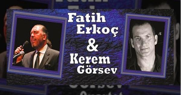 30 Kasım'da Leyla Gencer Opera ve Sanat Merkezi'nde gerçekleşecek  Fatih Erkoç & Kerem Görsev Trio için biletler
