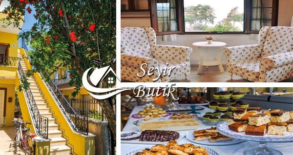 İznik Seyir Butik'te kahvaltı dahil çift kişilik 1 gece konaklama keyfi 149 TL'den başlayan fiyatlarla! Fırsatın geçerlilik tarihi için, DETAYLAR bölümünü inceleyiniz.