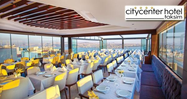 Taksim City Center Hotel'de iftar yemeği ve sahur ikramları dahil 2 kişilik konaklama seçenekleri 429 TL'den başlayan fiyatlarla! Fırsatın geçerlilik tarihi için DETAYLAR bölümünü inceleyiniz.