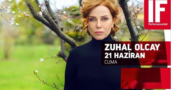 21 Haziran'da IF Performance Hall Ataşehir Sahnesi'nde gerçekleşecek Zuhal Olcay konserine biletler 71,50 TL yerine 50 TL! 21 Haziran 2019 | 21:00 | IF Performance Hall Ataşehir Sahnesi