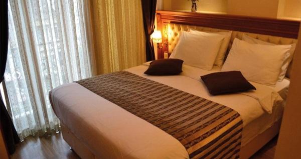 Sultanahmet Seven Days Hotel'de kahvaltı dahil çift kişilik 1 gece konaklama 119 TL'den başlayan fiyatlarla! Fırsatın geçerlilik tarihi için, DETAYLAR bölümünü inceleyiniz.