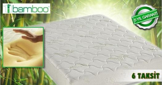 Bambu lifli astar ve kılıfı ile daha sağlıklı ve konforlu uykular sunan Bamboo Naturbed visco yataklar 419 TL'den başlayan fiyatlarla! Farklı ebat seçenekleriyle tüm Türkiye'ye ÜCRETSİZ kargo hizmeti vardır.