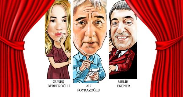 """Ali Poyrazoğlu'nun başrolünde olduğu """"Tamamla Bizi Ey Aşk"""" komedi oyunu için biletler 90,50 TL yerine 55 TL! Tarih ve konum seçimi yapmak için """"Hemen Al"""" butonuna tıklayınız."""