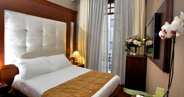Şişli'nin görkemli hoteli Atik Palas'ta kahvaltı dahil 1 gece konaklama seçenekleri 179 TL'den başlayan fiyatlarla! Fırsatın geçerlilik tarihi için DETAYLAR bölümünü inceleyiniz.