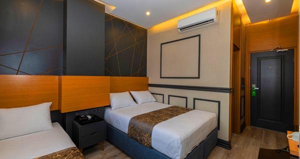 Confores Hotel'de 1 gecelik konaklama seçenekleri 220 TL'den başlayan fiyatlarla! Fırsatın geçerlilik tarihi için DETAYLAR bölümünü inceleyiniz.