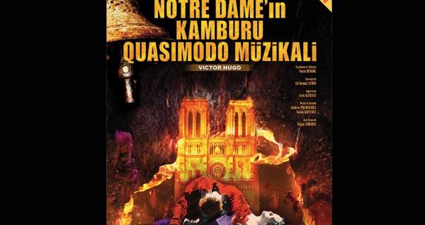 """Victor Hugo'nun ölümsüz eseri """"Notre Dame - Quasimodo Musical"""" için biletler 67 TL yerine 40 TL! Tarih ve konum seçimi yapmak için """"Hemen Al"""" butonuna tıklayınız. Müzikal Türkçe oynanmaktadır."""