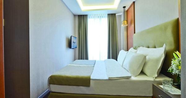 Harbiye Blueway Hotel City'de kahvaltı dahil çift kişilik 1 gece konaklama 159 TL! Fırsatın geçerlilik tarihi için DETAYLAR bölümünü inceleyiniz.
