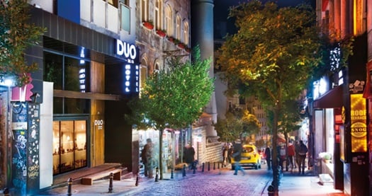 Beyoğlu Duo Galata Hotel'de Galata Kulesi manzaralı odalarda çift kişilik 1 gece konaklama seçenekleri 229 TL'den başlayan fiyatlarla! Fırsatın geçerlilik tarihi için, DETAYLAR bölümünü inceleyiniz. Fırsat özel günlerde geçerli değildir.