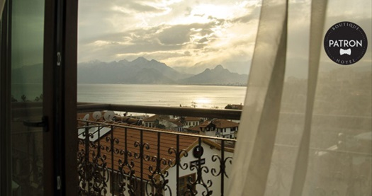 Antalya Patron Hotel'de çift kişilik 1 gece konaklama seçenekleri 89 TL'den başlayan fiyatlarla! Fırsatın geçerlilik tarihi için, DETAYLAR bölümünü inceleyiniz.