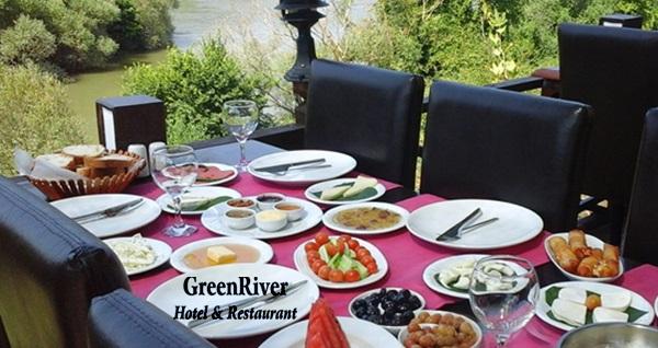 Ağva Green River'da doğayla iç içe serpme köy kahvaltısı 25 TL'den başlayan fiyatlarla! Fırsatın geçerlilik tarihi için DETAYLAR bölümünü inceleyiniz.