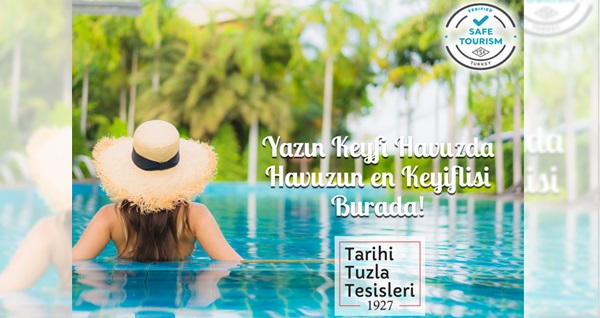 Tarihi Tuzla Tesisleri'nde havuz kullanımı ve kahvaltı seçenekleri 79 TL'den başlayan fiyatlarla! Fırsatın geçerlilik tarihi için DETAYLAR bölümünü inceleyiniz.