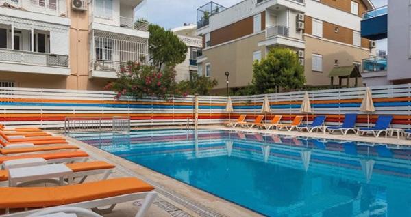 Tema Lara Hotel Antalya'da havuz girişi, açık büfe kahvaltı veya hamburger menü kişi başı 39,90 TL'den başlayan fiyatlarla! Fırsatın geçerlilik tarihi için DETAYLAR bölümünü inceleyiniz.