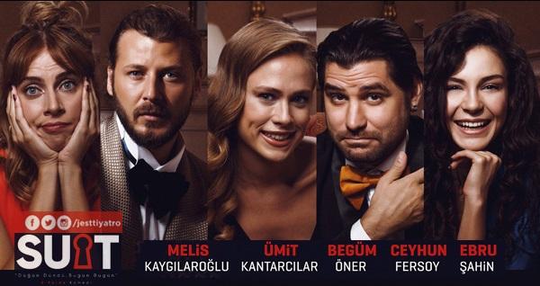 Eğlence dolu oyun 'Suit - Düğün Dündü, Bugün Bugün' için biletler 79 TL yerine 45 TL! 19 Şubat 2020 | 20:00 | MEB Şura Salonu