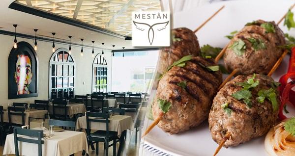 Bayraklı Mestan Restaurant'ta canlı fasıl eşliğinde tavuk, köfte ve et menüleri 74,90 TL'den başlayan fiyatlarla! Fırsatın geçerlilik tarihi için DETAYLAR bölümünü inceleyiniz.