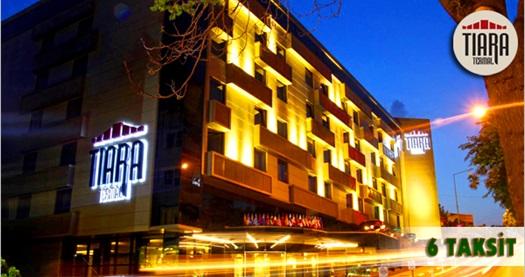 Osmangazi Tiara Thermal & SPA Hotel'de çift kişilik 1 gece konaklama seçenekleri 109 TL'den başlayan fiyatlarla! Fırsatın geçerlilik tarihi için, DETAYLAR bölümünü inceleyiniz.