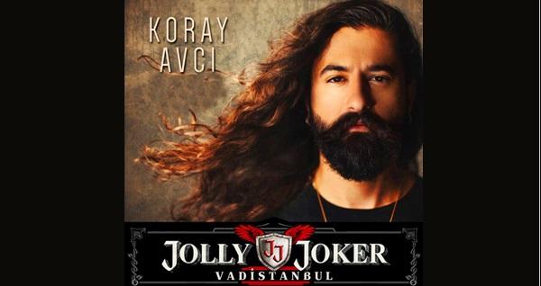 5 Temmuz'da Jolly Joker Vadistanbul Sahnesi'nde gerçekleşecek Koray Avcı konserine biletler 59,90 TL'den başlayan fiyatlarla! 5 Temmuz 2019   22:00   Jolly Joker Vadistanbul Sahnesi