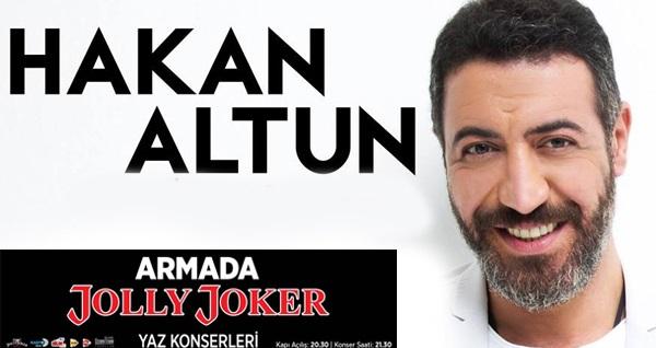 22 Haziran'da Armada AVM Jolly Joker'de gerçekleşecek Hakan Altun konserine biletler 54,90 TL'den başlayan fiyatlarla! 22 Haziran 2019 | 20:30 | Armada AVM Jolly Joker