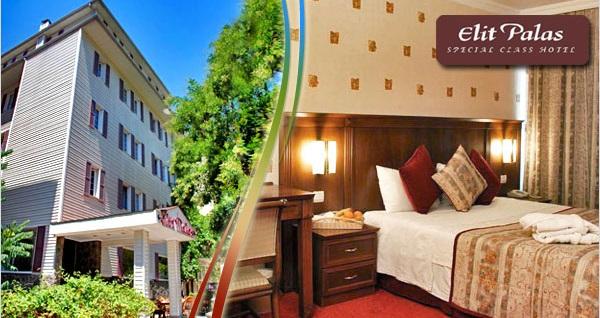 Kavaklıdere Elit Palas Hotel'de kahvaltı hariç çift kişilik 1 gece konaklama seçenekleri 169 TL'den başlayan fiyatlarla! Fırsatın geçerlilik tarihi için, DETAYLAR bölümünü inceleyiniz.