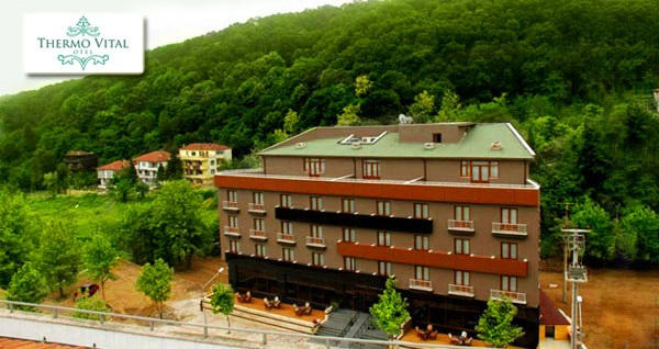 Yalova Thermo Vital Hotel'de kahvaltı dahil çift kişilik 1 gece konaklama ve spa keyfi 169 TL'den başlayan fiyatlarla! Fırsatın geçerlilik tarihi için DETAYLAR bölümünü inceleyiniz.