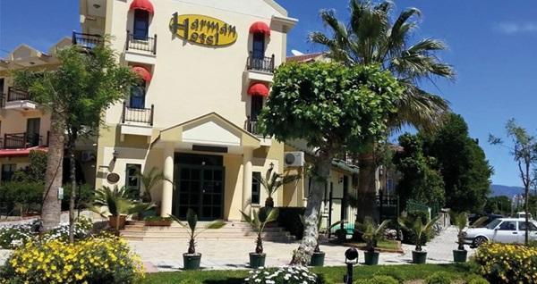 Bayramda da geçerli Fethiye Harman Hotel'de kahvaltı dahil çift kişilik 1 gece konaklama seçenekleri 299 TL'den başlayan fiyatlarla! Fırsatın geçerlilik tarihi için, DETAYLAR bölümünü inceleyiniz.