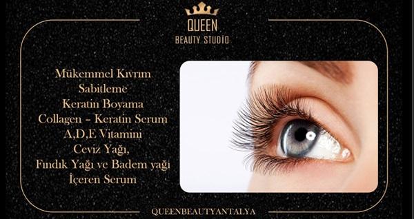 Queen Beauty Studio'da kirpik liftingi 250 TL yerine 79,90 TL! Fırsatın geçerlilik tarihi için DETAYLAR bölümünü inceleyiniz.