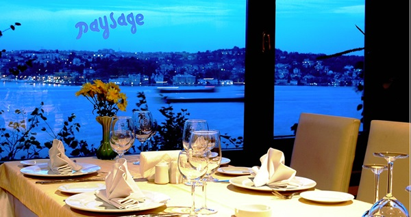 Kanlıca Paysage Restaurant'ta her Cumartesi ALİCAN ATALAY sahnesi eşliğinde akşam yemeği 149,90 TL'den başlayan fiyatlarla! Fırsatın geçerlilik tarihi için DETAYLAR bölümünü inceleyiniz.