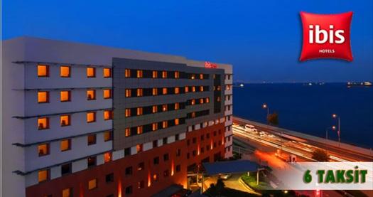 Dünyanın markası İbis İstanbul Hotel'de çift kişilik 1 gece konaklama keyfi 139 TL'den başlayan fiyatlarla! Özel günler HARİÇ; 19 Temmuz 2015 tarihine kadar, haftanın her günü geçerlidir. Fırsata, şehir VEYA deniz manzaralı odalarda çift kişilik 1 gece oda+kahvaltı YA DA sadece konaklama dahildir.
