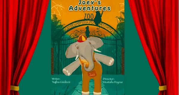 Hem eğlenceli hem eğitici İngilizce çocuk oyunu ''Joey's Adventures'' için biletler 35 TL yerine 24,50 TL! 1 Aralık 2019 | 14.00 & 16.00 | İzmir Sanat Merkezi