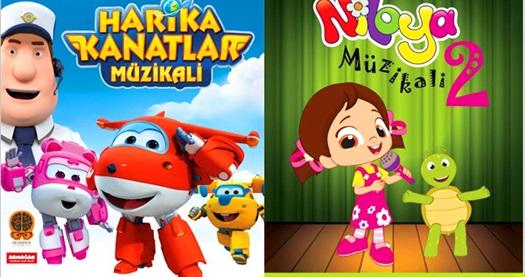 """TRT Çocuk ekranlarının sevilen yapımı """"Harika Kanatlar"""" ve """"Niloya"""" için biletler 33,50 TL yerine 20 TL! Oyun, tarih ve konum seçimi yapmak için """"Hemen Al"""" butonuna tıklayınız."""