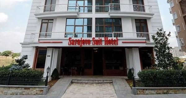 Kocaeli Sarajevo Suit Hotel'de çift kişilik 1 gece konaklama 225 TL! Fırsatın geçerlilik tarihi için, DETAYLAR bölümünü inceleyiniz.