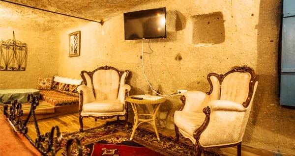 Uçhisar Magical Cave House'da kahvaltı dahil çift kişilik 1 gece konaklama keyfi 119 TL'den başlayan fiyatlarla! Fırsatın geçerlilik tarihi için, DETAYLAR bölümünü inceleyiniz.