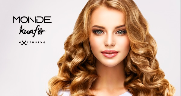 Monde Kuaför'ün Kozyatağı şubesinde geçerli saç bakım uygulamaları