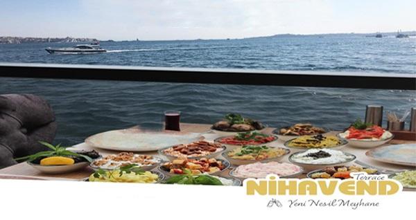 Etiler Nihavend'de zengin lezzetlerden oluşan fiks menü ve yerli içecek kişi başı 220 TL yerine 175 TL! Fırsatın geçerlilik tarihi için, DETAYLAR bölümünü inceleyiniz.