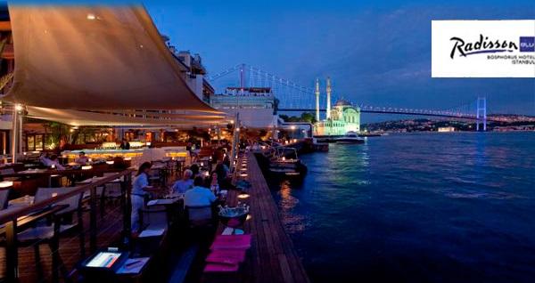 Ortaköy Radisson Blu Bosphorus Hotel'de Boğaz manzarası eşliğinde akşam yemeği 140 TL'den başlayan fiyatlarla! Fırsatın geçerlilik tarihi için DETAYLAR bölümünü inceleyiniz.