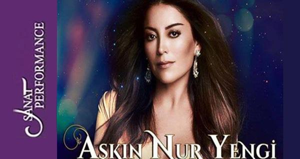 6 Ekim'de Sanat Performance Açık Hava Sahnesi'nde Aşkın Nur Yengi konserine biletler