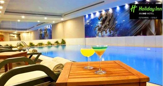 Holiday Inn Şişli Hotel Ni Thai Spa'da kapalı havuz girişi, tesis kullanımı ve fitness üyeliği 79 TL'den başlayan fiyatlarla! Fırsatın geçerlilik tarihi için DETAYLAR bölümünü inceleyiniz.