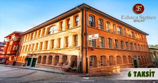 Educa suites balat 39 ta konaklama grupanya for Educa suites istanbul