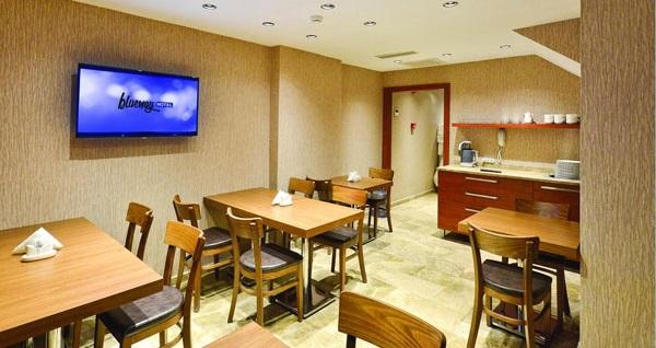 Harbiye Blueway Hotel City'de kahvaltı dahil çift kişilik 1 gece konaklama 240 TL yerine 159 TL! Fırsatın geçerlilik tarihi için DETAYLAR bölümünü inceleyiniz.
