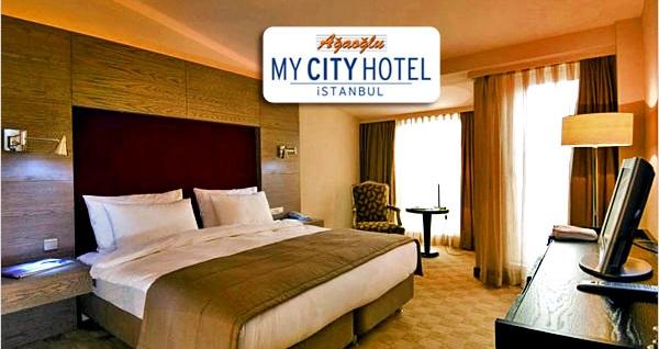 Ümraniye Ağaoğlu My City Otel'de çift kişilik 1 gece konaklama seçenekleri 249 TL'den başlayan fiyatlarla! Fırsatın geçerlilik tarihi için DETAYLAR bölümünü inceleyiniz.