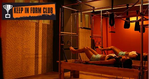 Keep In Form Club'tan birebir reformer pilates seansları 79 TL'den başlayan fiyatlarla! Fırsatın geçerlilik tarihi için DETAYLAR bölümünü inceleyiniz.