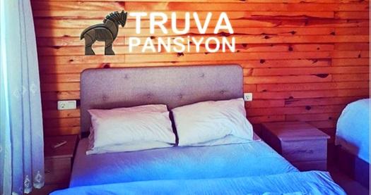 Kumluca Truva Pansiyon'da bungalow odalarda çift kişilik 1 gece Yarım Pansiyon konaklama 500 TL'den başlayan fiyatlarla! Fırsatın geçerlilik tarihi için DETAYLAR bölümünü inceleyiniz.