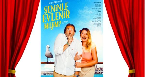 """Şebnem Özinal ve Yosi Mizrahi'nin rol aldığı """"Seninle Evlenir Miyim?"""" oyunu için biletler 78 TL yerine 50 TL! 20 Ocak 2020 / 20.00 / 4 Mevsim Tiyatro Salonu"""