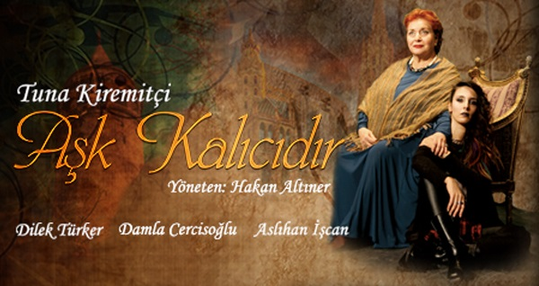 """Tuna Kiremitçi'nin kaleminden 'AŞK KALICIDIR' adlı oyuna biletler 67,50 TL yerine 40 TL! Tarih ve konum seçimi yapmak için """"Hemen Al"""" butonuna tıklayınız."""