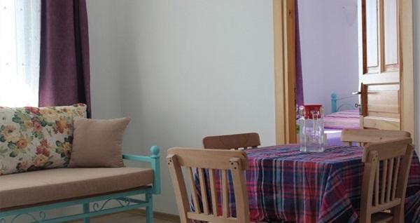 Gökçeada Şahika Konuk Evi'nde açık büfe kahvaltı dahil çift kişilik 1 gece konaklama seçenekleri 179 TL'den başlayan fiyatlarla! Fırsatın geçerlilik tarihi için, DETAYLAR bölümünü inceleyiniz.