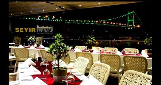 Rumelihisarı Seyir Terrace'da Boğaz manzarası eşliğinde akşam yemeği menüleri 89 TL'den başlayan fiyatlarla! Fırsatın geçerlilik tarihi için DETAYLAR bölümünü inceleyiniz.