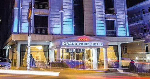 Çankaya Grand Work Hotel'de açık büfe kahvaltı dahil çift kişilik 1 gece konaklama ve spa keyfi 179 TL'den başlayan fiyatlarla! Fırsatın geçerlilik tarihi için, DETAYLAR bölümünü inceleyiniz.