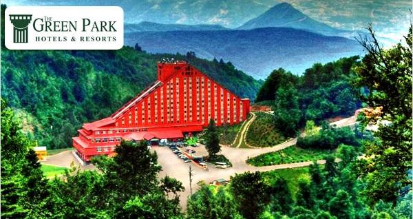 The Green Park Kartepe Resort & SPA'da çift kişilik 1 gece konaklama seçenekleri 229 TL'den başlayan fiyatlarla! Fırsatın geçerlilik tarihi için DETAYLAR bölümünü inceleyiniz.